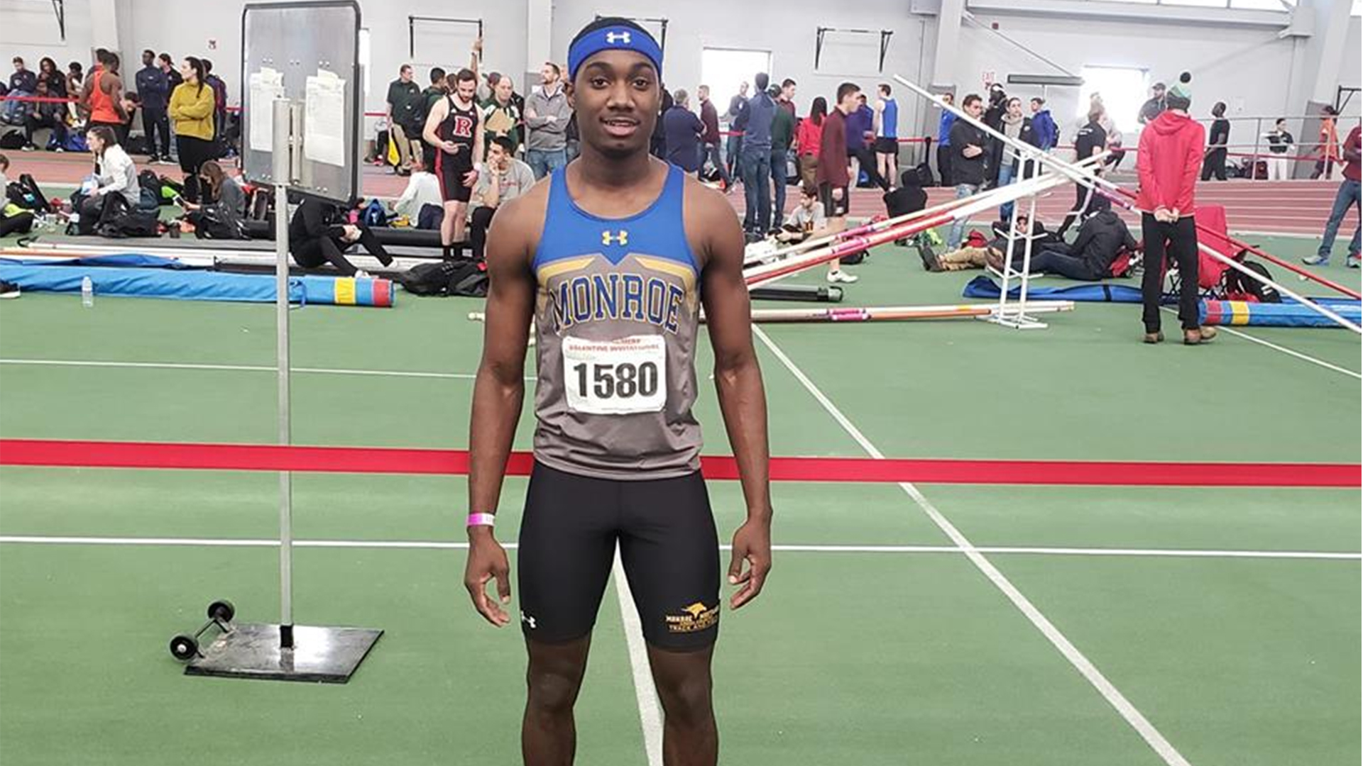 Monroe Men's Indoor Track and Field Has Stellar Day at David Hemery Valentine Invitational
